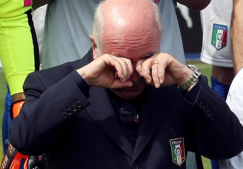 Italy soccer boss resigns after World Cup elimination