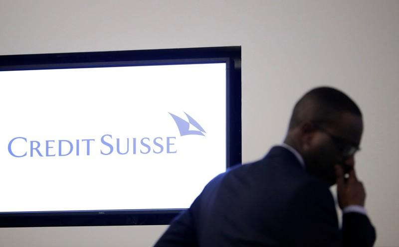 Chief Executive Tidjane Thiam of Swiss bank Credit Suisse awaits a news conference to present the company's full-year results, in Zurich, Switzerland, February 14, 2018. Moritz Hager