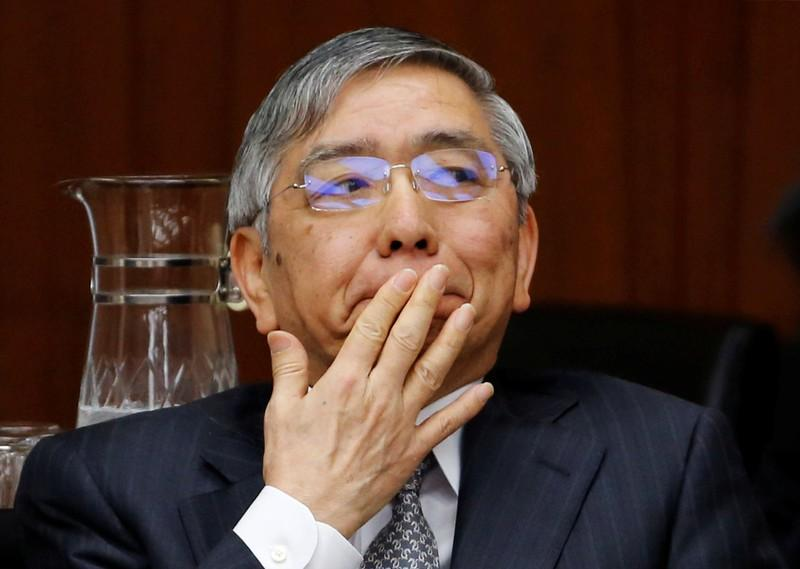 Bank of Japan (BOJ) Governor Haruhiko Kuroda attends a financial and monetary committee session at the Lower House of the parliament in Tokyo, Japan, February 16, 2018.  Toru Hanai