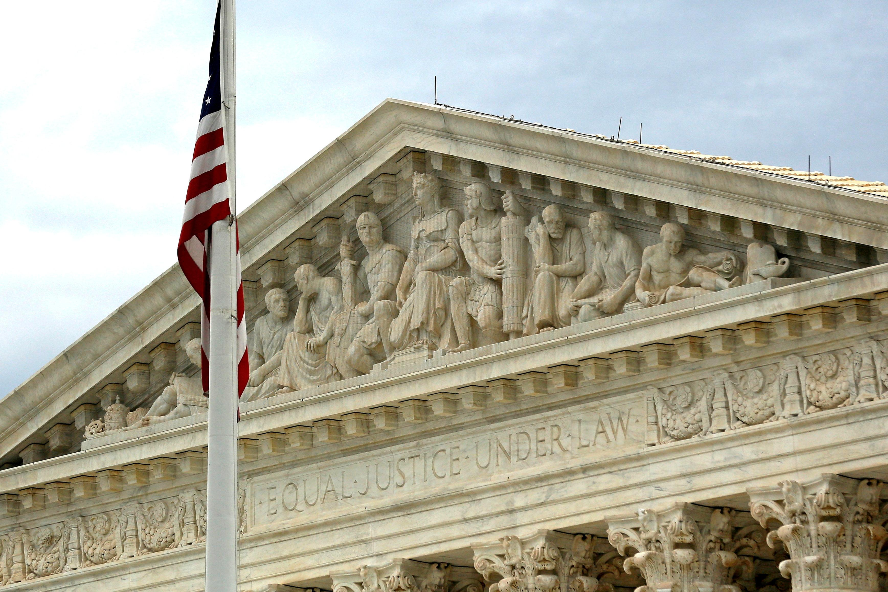 A view of the U.S. Supreme Court building is seen in Washington, DC, U.S., October 13, 2015. Jonathan Ernst