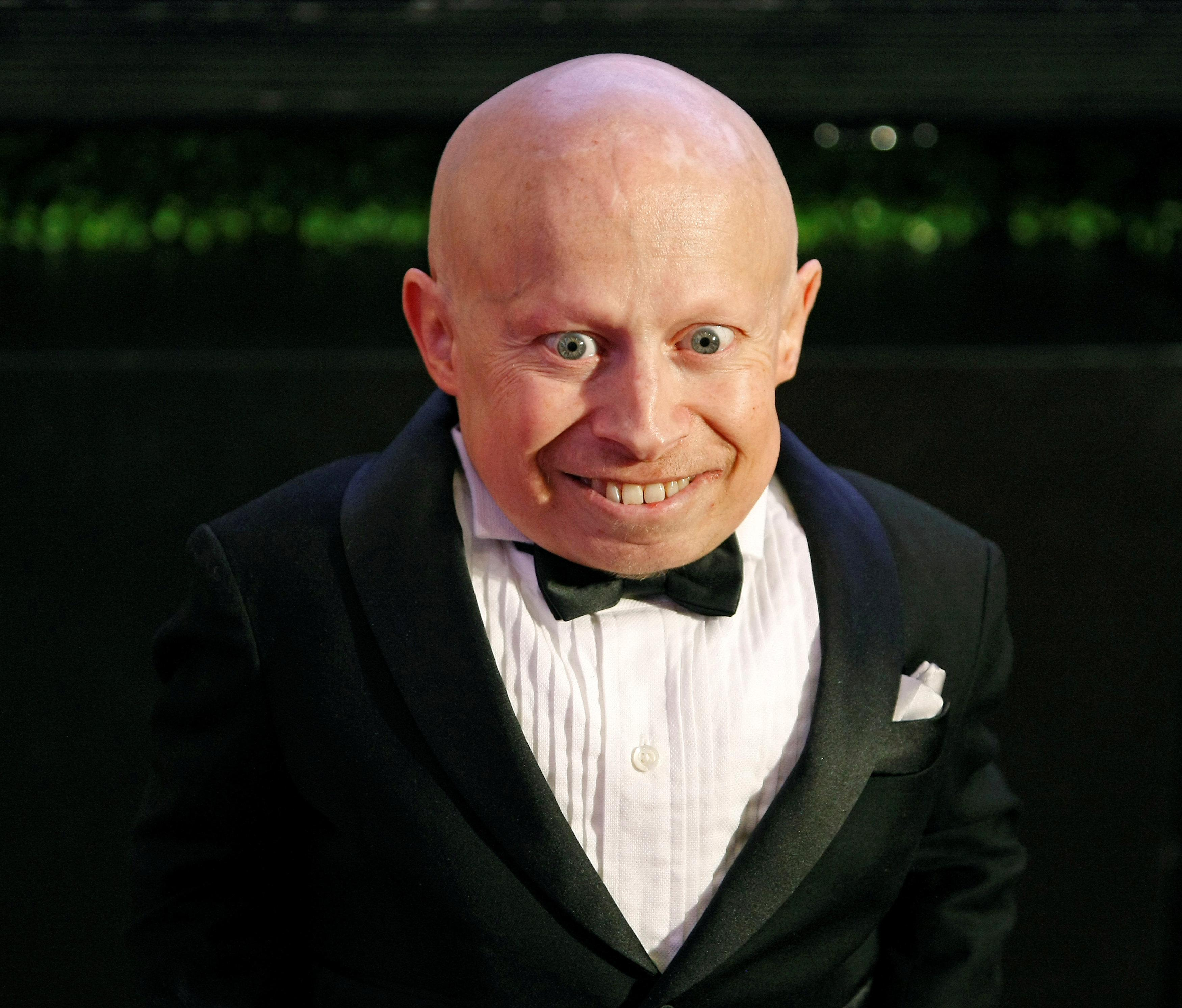 Actor Verne Troyer arrives on the red carpet at the Muhammad Ali Celebrity Fight Night Awards XIX in Phoenix, Arizona March 23, 2013. Ralph Freso