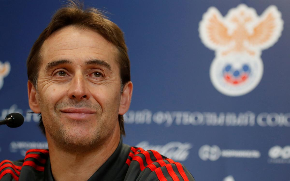 Soccer: Lopetegui fired by Spain two days before World Cup debut, Hierro takes charge