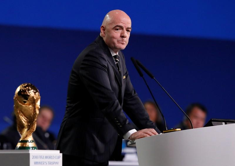 FIFA President Infantino to run for re-election in 2019