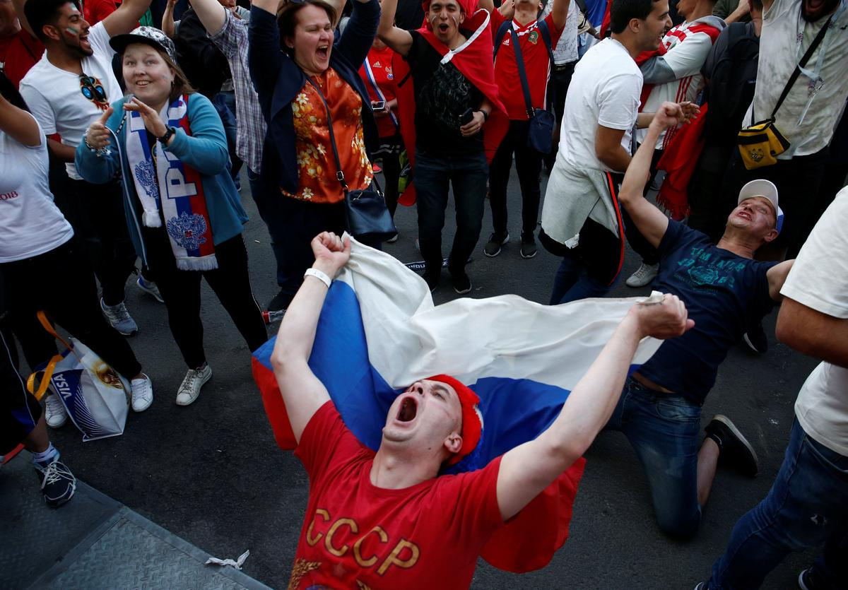 Soccer: Russian views of their World Cup team go from shame to pride