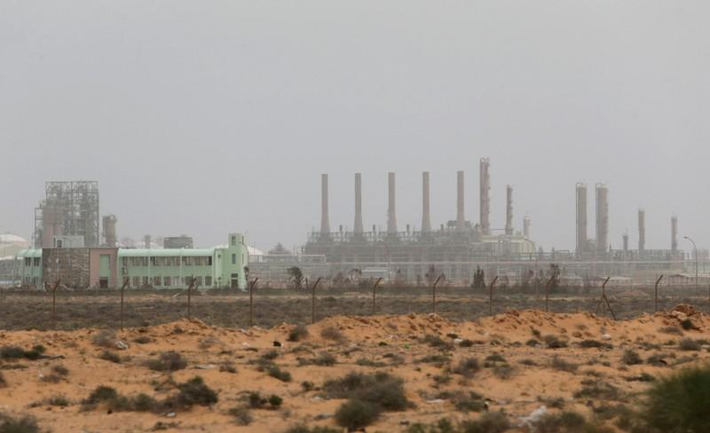 A view shows Ras Lanuf Oil and Gas Company in Ras Lanuf, Libya, March 16, 2017. Esam Omran Al-Fetori
