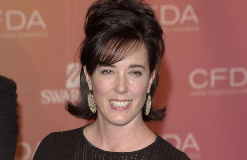 Kate Spade arrives at the Council of Fashion Designers of America awards in New York on June 2, 2003, at the New York Public Library. Chip East
