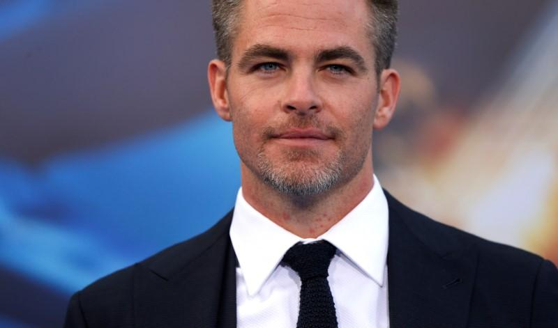 Cast member Chris Pine poses at the premiere of