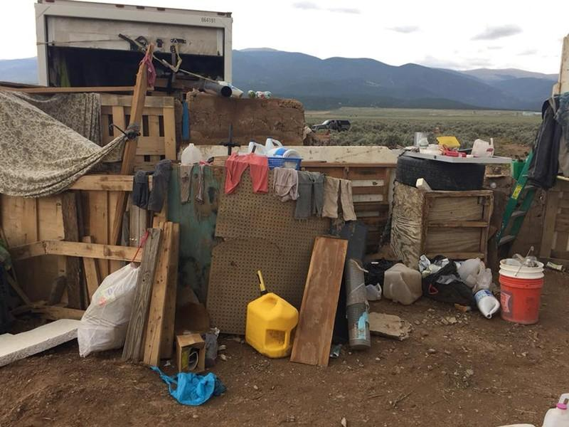 New Mexico compound girls briefly reunited with grandfather