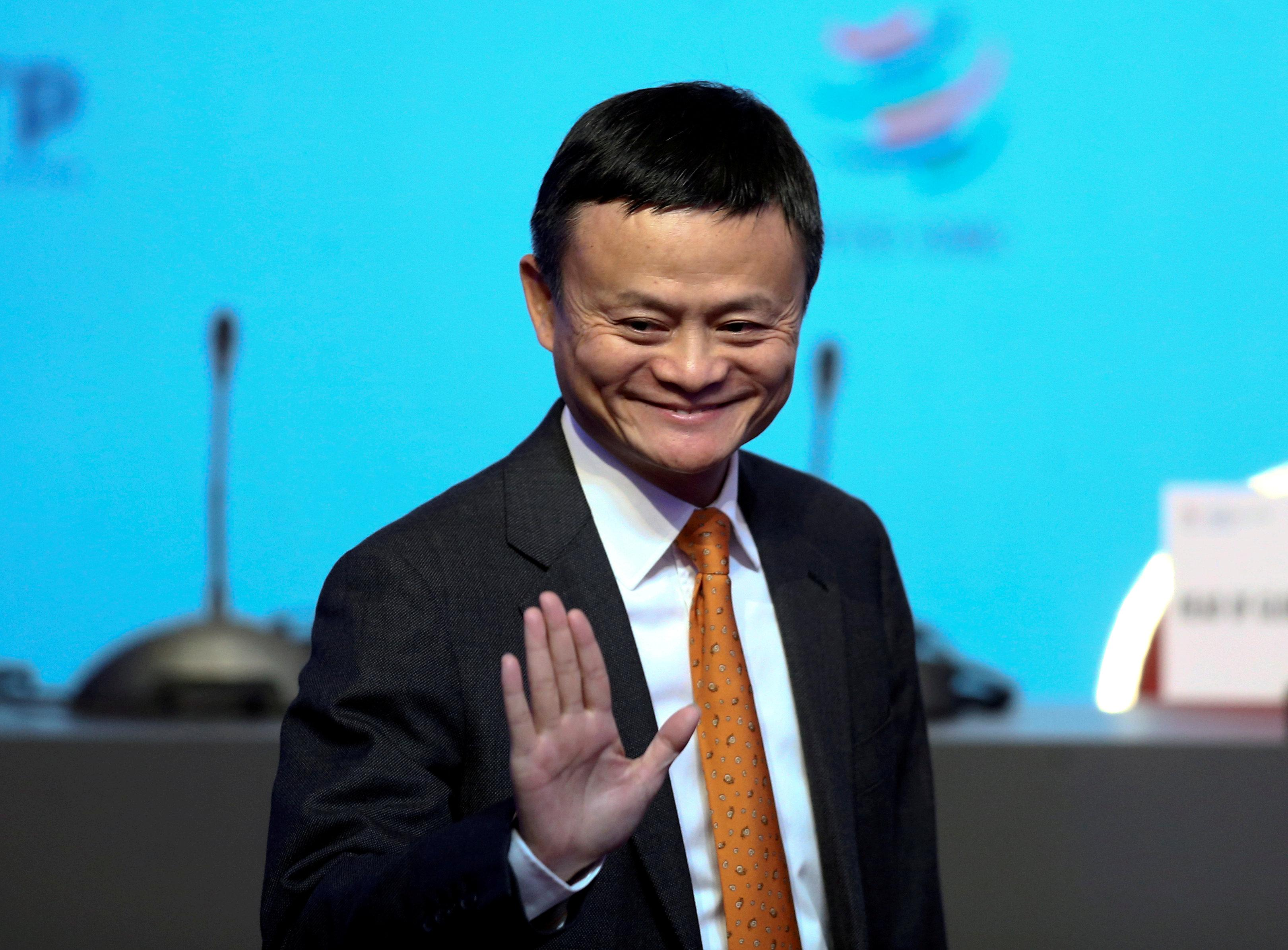 Alibaba Group Executive Chairman Jack Ma gestures as he attends the 11th World Trade Organization's ministerial conference in Buenos Aires, Argentina December 11, 2017. Marcos Brindicci