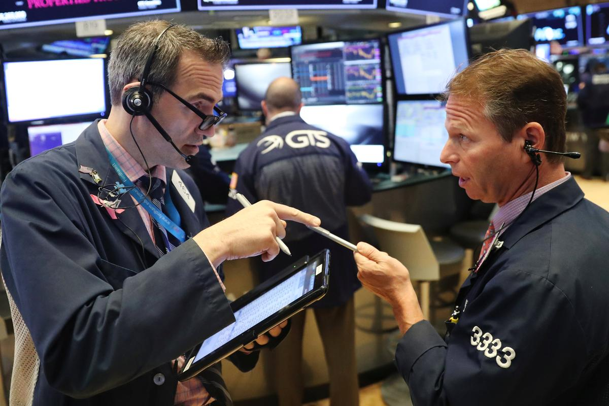US STOCKS SNAPSHOT-Wall St opens lower as trade jitters weigh