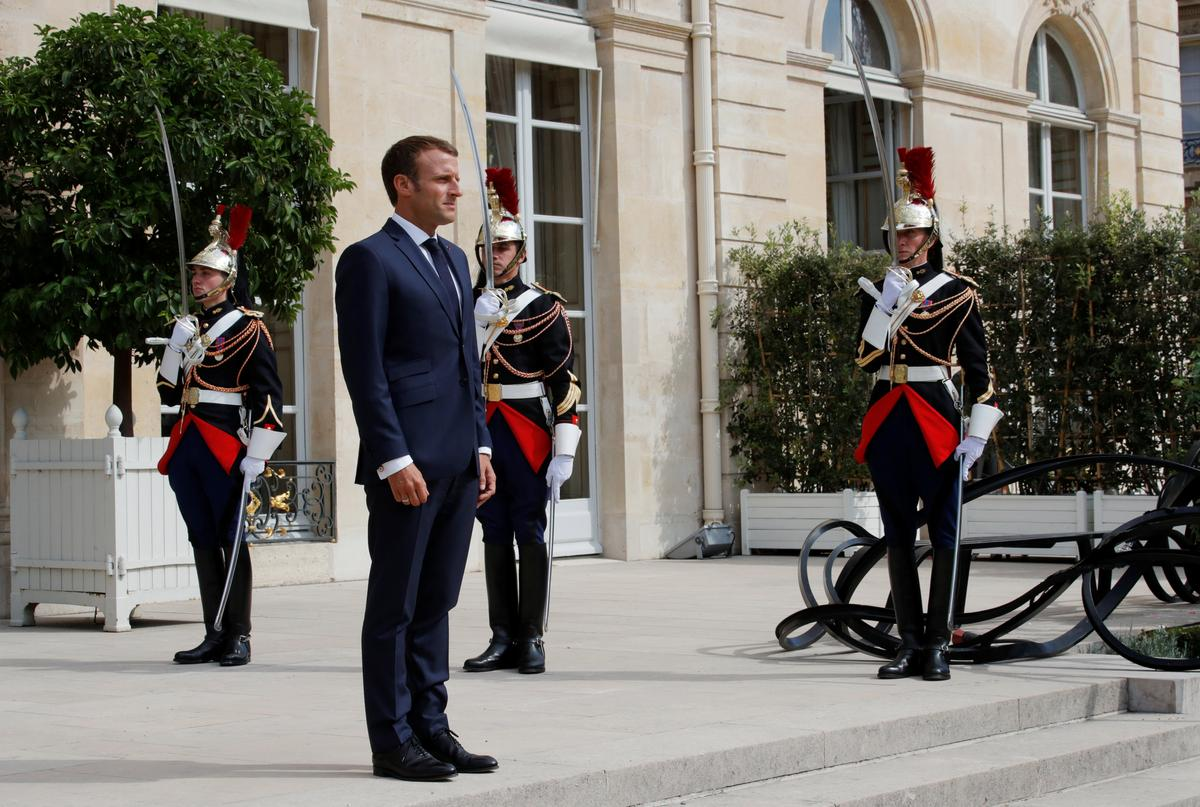 Macron mugs: France's Elysee Palace moves into memorabilia