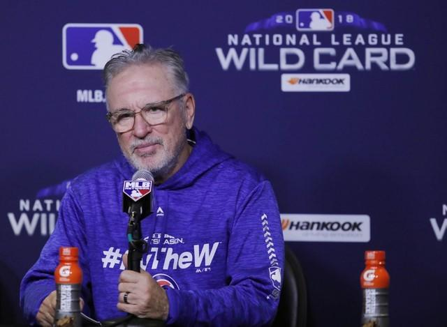 Maddon will manage Cubs in 2019