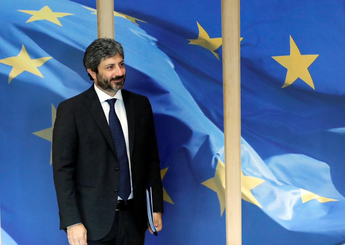 Italy's 5-Star rules out alliance with far-right in EU Parliament