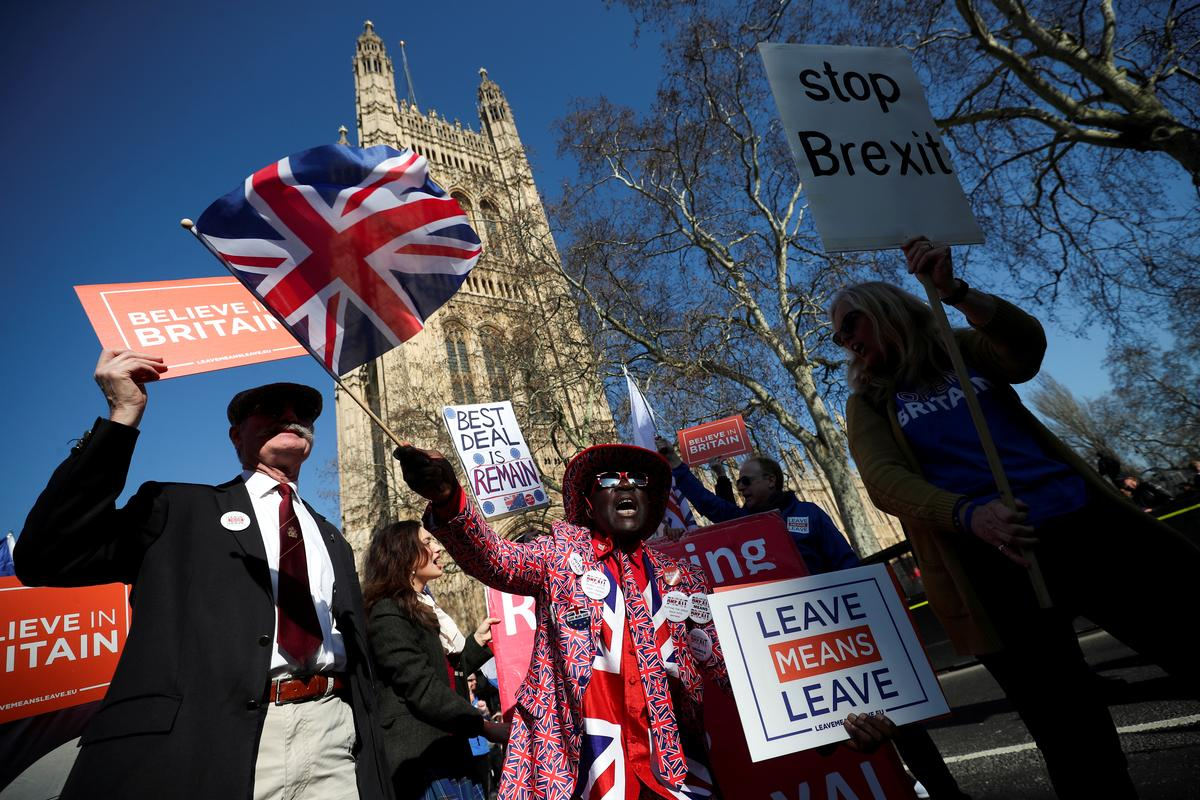 Reporting Brexit: Racing to break news in Britain's ancient parliament