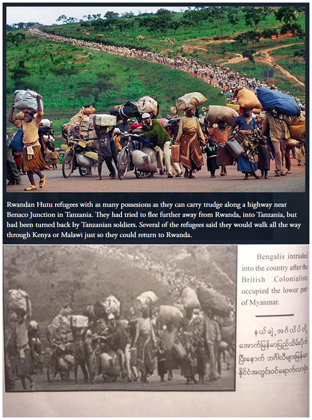 Exclusive: Fake photos in Myanmar army's 'True News' book on