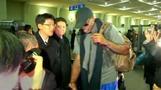 Dennis Rodman lands in North Korea