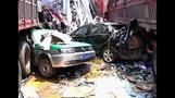 Deadly 56-vehicle crash in China