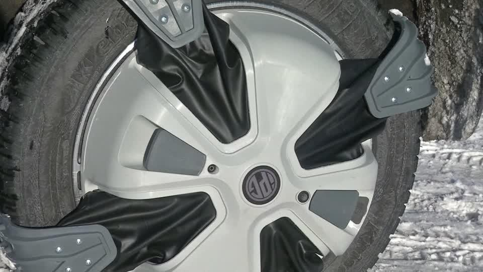 Snow Chains For Your Car That Switch On And Off Reuters Com