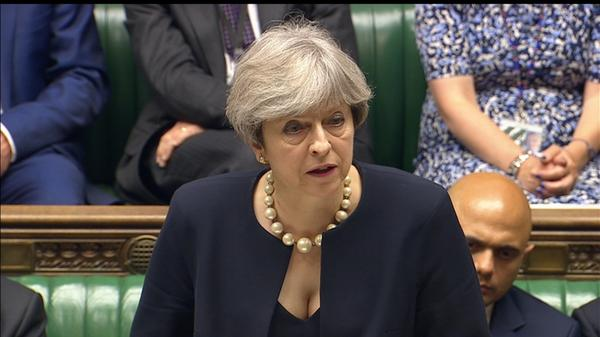Other UK buildings are 'combustible' - PM May