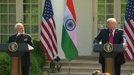 Trump says he, India's Modi are