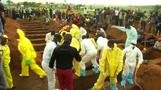 Mass burial held for victims of Sierra Leone mudslide