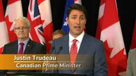 Canada's Trudeau warns against entering country 'irregularly'