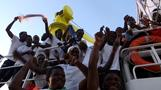 Rescued migrants say 'lucky' to dodge Libyan coastal clamp down