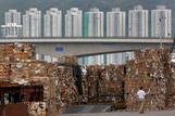 Hong Kong waste paper mounts as China imposes ban
