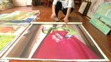 国連制裁下でも活況呈する北朝鮮画廊、知られざる絵画ビジネス(字幕・4日)