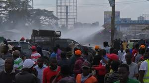 Two killed in Kenyan opposition rally