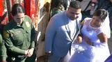 Couple tie the knot across US-Mexico barrier