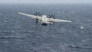 Three missing after Navy plane crashes in Philippine Sea