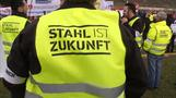 ThyssenKrupp: record orders amid steel protests