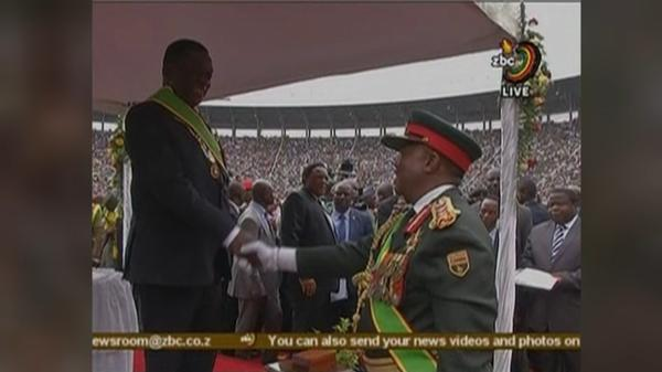 "Mnangagwa, the ""Crocodile,"" sworn in as Zimbabwe's president"