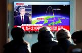 北朝鮮がミサイル発射、高度は過去最高の4000キロ超(字幕・29日)