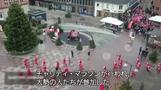 サンタが町に大勢やってきた、欧州各地で仮装マラソン大会(字幕・11日)