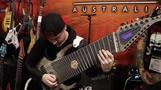 YouTube star demos 18-string custom guitar