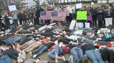 INSIGHT: A 'die-in' at the White House