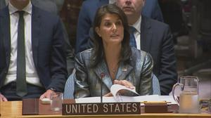 Haley to Abbas: U.S.