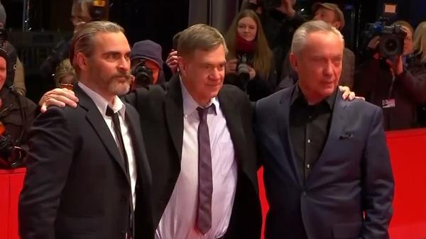 Joaquin Phoenix and Gus Van Sant premiere cartoonist biopic in Berlin
