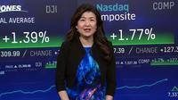 NY株上昇、ハイテク株が高い 米債利回り低下も追い風(23日)