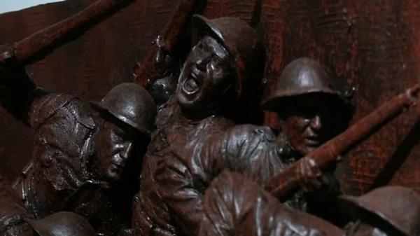 A soldier's epic journey captured in sculpture for U.S. World War One memorial