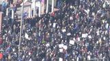 Crowds gather in Philadelphia for \