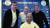 Guardiola happy to extend stay at Man City 'family'