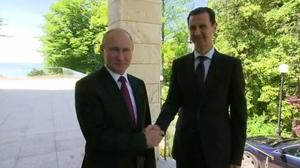 Syria's Assad flies to Russia for talks with Putin
