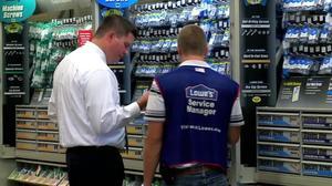 Lowe's keeps targets despite sales miss
