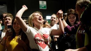 Ireland set to end abortion ban by landslide margin