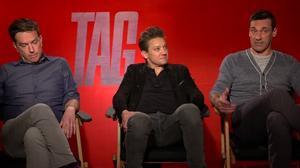 'Tag' cast discuss the bromantic comedy