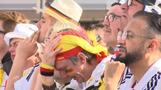 Disappointment in Berlin fan zone as Mexico win 1-0