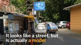 Miniature artist brings Taipei streets alive
